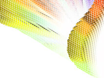 Abstract 3d colorful mosaic background. EPS 8 Royalty Free Stock Image