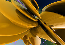 Abstract 3D design Royalty Free Stock Photo