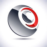 Abstract 3d icon. Stock Photography