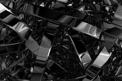 Abstract 3D Illustration Royalty Free Stock Photos