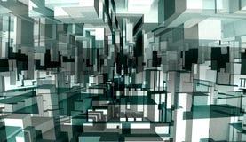Abstract 3d illustration stock illustration