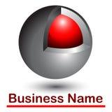 Abstract 3d logo. Or icon Stock Photos