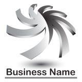 Abstract 3d logo Stock Photo