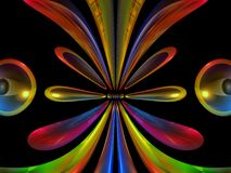 Abstract 3d Ovals Stock Photos