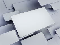 Abstract 3d render Royalty Free Stock Photography