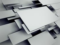 Abstract 3d render Royalty Free Stock Photo