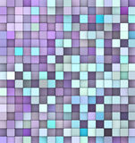 Abstract 3d render backdrop in purple blue. Abstract 3d render backdrop in different shades of purple blue Royalty Free Stock Photography