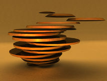 Abstract 3D Rendering Stock Photos