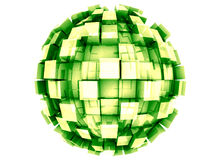 Abstract 3d Sphere Royalty Free Stock Images