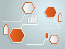 Abstract 3d Tag Infographics Vector Stock Photo