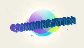 Abstract 3d text Royalty Free Stock Images