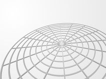 Abstract 3D web background. With copy space Stock Photos