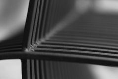 Abstract. Bench in prague, abstract background Royalty Free Stock Images