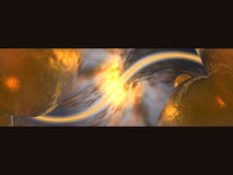Abstract. 3D Render Royalty Free Stock Photography