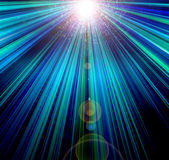 Abstract. Light burst and rays of light Stock Photography
