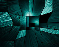 Abstract. Box like forms done in modern art style Royalty Free Stock Image