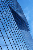 Abstract. The top of highrise building Royalty Free Stock Photography