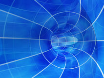 Abstract A Tunnel Royalty Free Stock Image