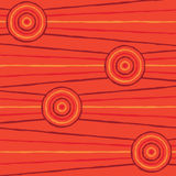 Abstract Aboriginal Art. Abstract Aboriginal line painting in vector format Royalty Free Stock Images