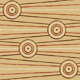 Abstract Aboriginal Art. Abstract Aboriginal line painting in vector format Royalty Free Stock Photos