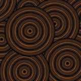 Abstract Aboriginal Art. Abstract Aboriginal line painting in vector format Stock Photos