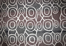 Abstract Aboriginal texture Stock Photo