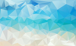 Abstract  Abstract water triangular pattern Royalty Free Stock Images
