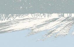Abstract achtergrond de winterlandschap Royalty-vrije Stock Foto
