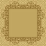 Abstract achtergrond, frame en patroon Royalty-vrije Illustratie