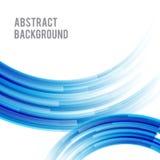 Abstract achtergrond helder en licht krommeblauw 005 royalty-vrije illustratie