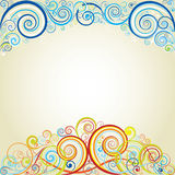Abstract achtergrondkleurenontwerp Stock Afbeeldingen