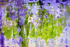 Abstract acid background - wall with mold stains Stock Images