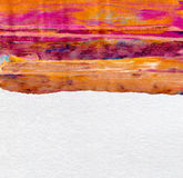 Abstract  acrilic and watercolor painted background Stock Photos