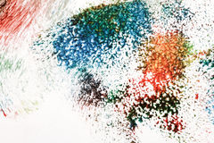Abstract acrylic art background. Macro shot of abstract acrylic art background. Multicolor light and bright texture. Fragment of artwork. Spots of acrylic paint vector illustration