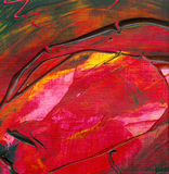 Abstract acrylic artwork. Abstract artwork, created and painted by the photographer Stock Photography