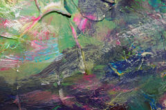 Abstract acrylic background. Abstract acryic background with bright multicolor splashes Stock Images