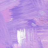 Abstract acrylic background with brush strokes in lavender and violet shades. Hand painted textured abstract acrylic background with brush strokes in lavender vector illustration