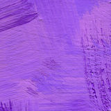 Abstract acrylic background with brush strokes in lavender and violet shades. Hand painted textured abstract acrylic background with brush strokes in lavender Stock Photo