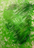 Abstract acrylic background painted hands green. Abstract acrylic background, painted hands, paint layers Royalty Free Stock Photos