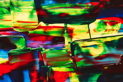 Abstract acrylic bright background Royalty Free Stock Photos