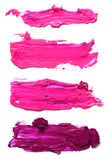Abstract acrylic brush strokes. Royalty Free Stock Image