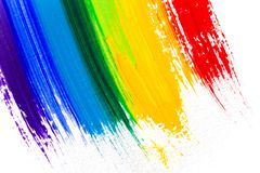 Abstract acrylic colors Stock Photos