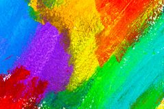 Abstract acrylic colors Royalty Free Stock Photos
