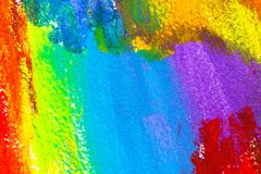 Abstract acrylic colors Royalty Free Stock Images