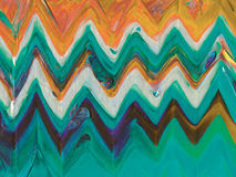 Abstract acrylic ethnic background. Royalty Free Stock Photos