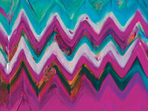 Abstract acrylic ethnic background. Royalty Free Stock Photo
