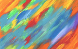 Abstract acrylic hand painted background Stock Images