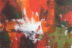 Abstract acrylic and oil background Stock Photos