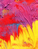 Abstract acrylic paint background Stock Image