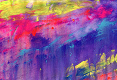 Abstract acrylic painted background Stock Photos